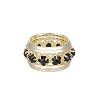 Hayes Eternity Ring in Black - Kendra Scott Jewelry