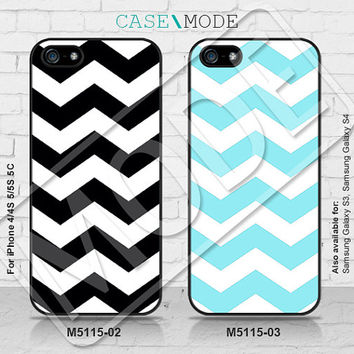 Chevron iPhone5 Case, iPhone 4 case, iPhone 5C Case, iPhone5s Case, Chevron iPhone Case, Phone Cases - M5115