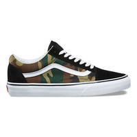 Woodland Camo Old Skool | Shop At Vans