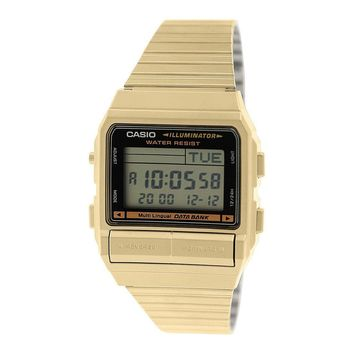 Gold Tone Casio Vintage Era Watch by Casio