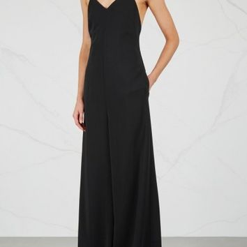 Rosetta Getty Black wide-leg jumpsuit