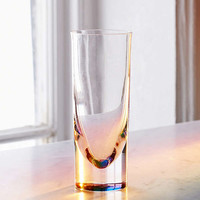 Rainbow Teardrop Drinking Glass | Urban Outfitters