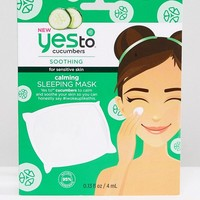 Yes To Cucumber Soothing & Calming Sleeping Mask at asos.com