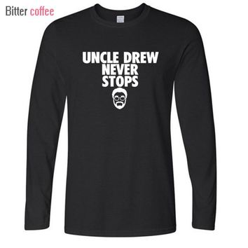 Kyrie Irving Uncle Drew Long Sleeve T Shirt