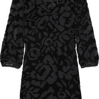 Juicy Couture Devor? velvet mini dress - 55% Off Now at THE OUTNET