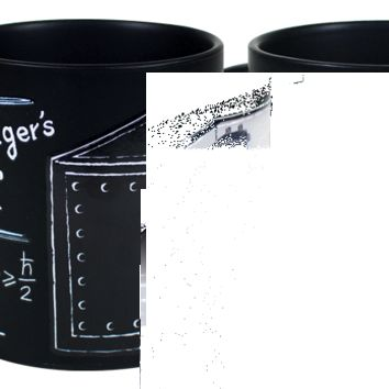 PHILOSPHERS GUILD SCHRODINGER'S CAT MUG SET