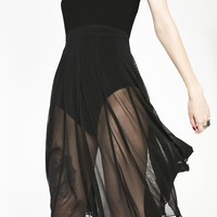 Medeina Bat Wing Skirt