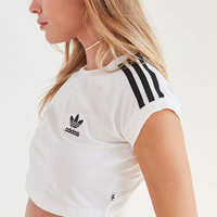 adidas Originals Short-Sleeve Cropped Top | Urban Outfitters