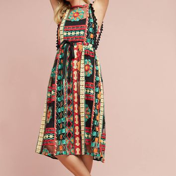 Saskia Embroidered Dress