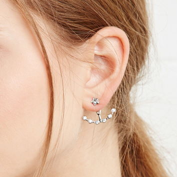 Rhinestoned Star Ear Jackets | Forever 21 - 1000174512