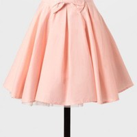 Through The Looking Glass Pleated Skirt In Pink at ShopRuche.com