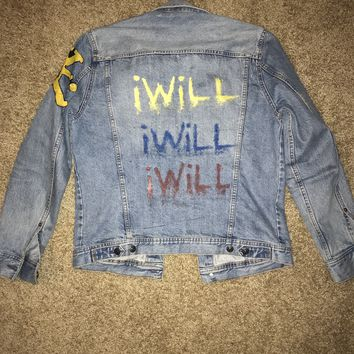 iWiLL Clo. Distressed Jean Jacket