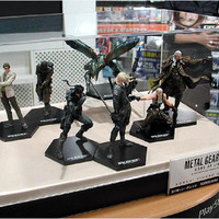 Konami Metal Gear Solid 2 Sons Of Liberty Collection 7 1P + 7 2P 14 Mini Trading Figure Set