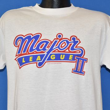 330fb7311 90s Major League II Movie 1994 t-shirt Large