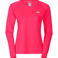 The North Face Women's Shirts & Tops Running/Training/Yoga WOMEN'S LONG-SLEEVE REAXION AMP TEE