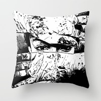 Woman Throw Pillow by Maioriz Home
