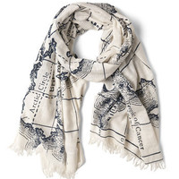 Mercator to Your Tastes Scarf