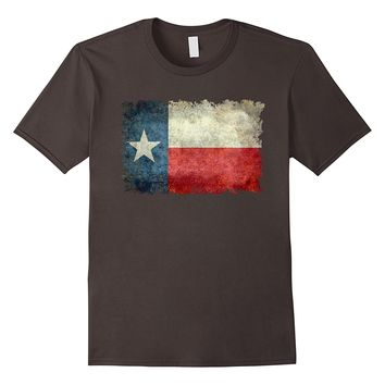 Texas Flag - Vintage Retro Style T-Shirt