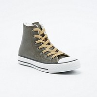 Converse Chuck Taylor High-Top Shearling Trainers in Khaki - Urban Outfitters