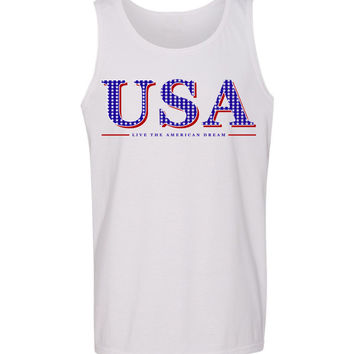 USA 'Live the American Dream' Tank Top