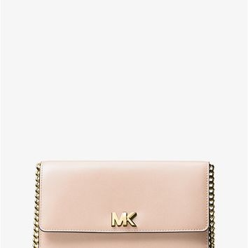 Mott Leather Clutch | Michael Kors