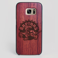 Toronto Raptors Galaxy S7 Edge Case - All Wood Everything