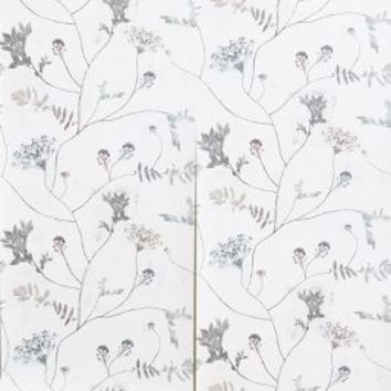 Grizedale Wallpaper by Natalie Ratcliffe Grey One Size House & Home