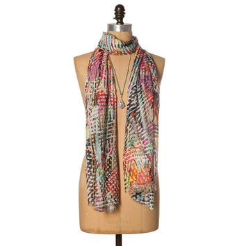 Lee Eye Candy Scarf in Multi