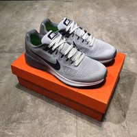 """Nike Air Zoom Structure 21"" Men Sport Casual Breathable Running Shoes Fashion Sneakers"