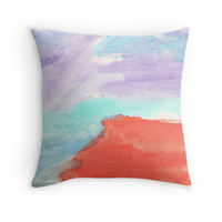 Bold Sunset Colors Abstract by Express Yourself Artshop
