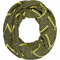 Lime print chevron snood - scarves - accessories - women