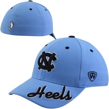 Top of the World North Carolina Tar Heels :UNC: Top Notch Flex Hat - Carolina Blue