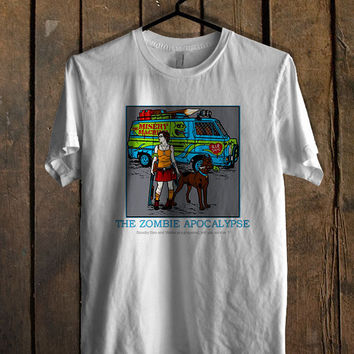 Zombie Apocalypse Scooby Doo T Shirt Mens T Shirt and Womens T Shirt *