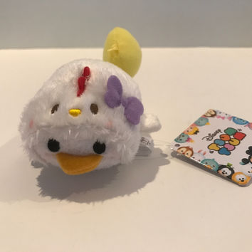 Disney Store Japan Rooster Year Daisy Duck Mini Tsum Plush New with Tags