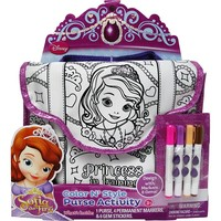 Disney Sofia the First Color N' Style Purse Activity Set