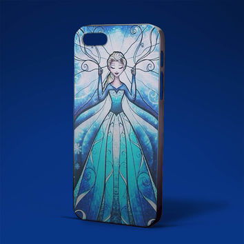 disney frozen elsa and anna stained glass couple for iPhone 4/4s,iPhone 5/5s,5c,6 samsung galaxy S3,S4,S5, hard case