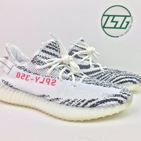 DS Yeezy Adidas Boost 350 V2 Zebra Size 11 CP9654 White Kanye 100% Authentic