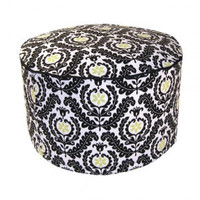Waverly Rise and Shine Petite Pouf Chair