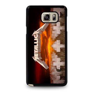 METALLICA MASTER OF PUPPETS Samsung Galaxy Note 5 Case Cover