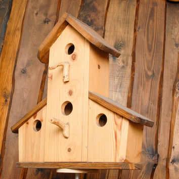 Handmade nest box eco friendly gift home decoration original present Castle