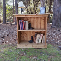 Rustic Cottage 2 Shelf Bookcase