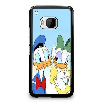 DONALD AND DAISY DUCK Disney  HTC One M9 Case Cover