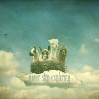 FUNNY LAMA ART PRINT for Adventurers ..***  NEVER STOP EXPLORING  ***  Art Print by M✿nika  Strigel | Society6 in MANY SIZES!