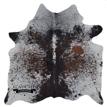 Cowhide Rugs - Snowie Tricolor Cowhide - Premium Quality - 100% Natural & Animal Product