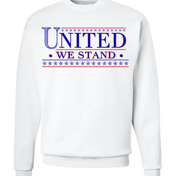 'United We Stand' Crew Neck Sweatshirt