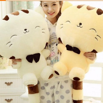 Plush toys doll cute cartoon cat doll of big cat face doll = 1929878276