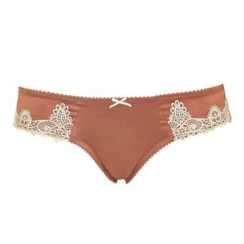Guipure Lace Mini Knickers - Lingerie - Clothing