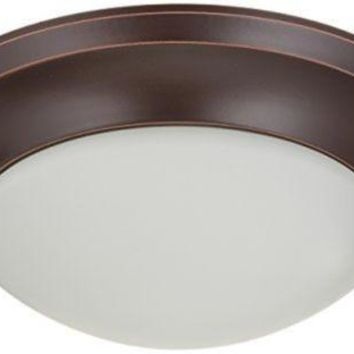 Nuvo 60-3365 - Twist & Lock Dome Small Flush Mount Ceiling Light