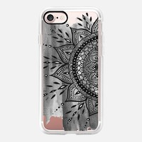 Black Mandala iPhone 7 Capa by Li Zamperini Art | Casetify