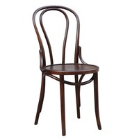 Oldanao Solid Wood Dining Chair, Brown